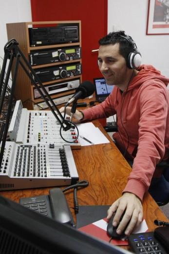 Estudios de Radio Klara en Valencia. M.F.