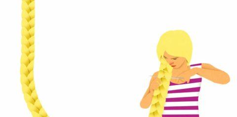 Imagen de Rapunzuel en la colección 'Érase dos veces'