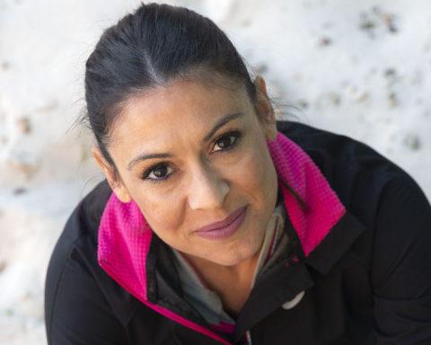 Concha Montaner en la pista de La Elina | Fotografía: Marga Ferrer