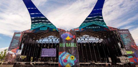 Escenario principal del Festival Río Babel