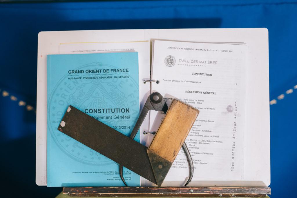 Constitución masónica del Gran Oriente de Francia | Fotografía: Kike Taberner